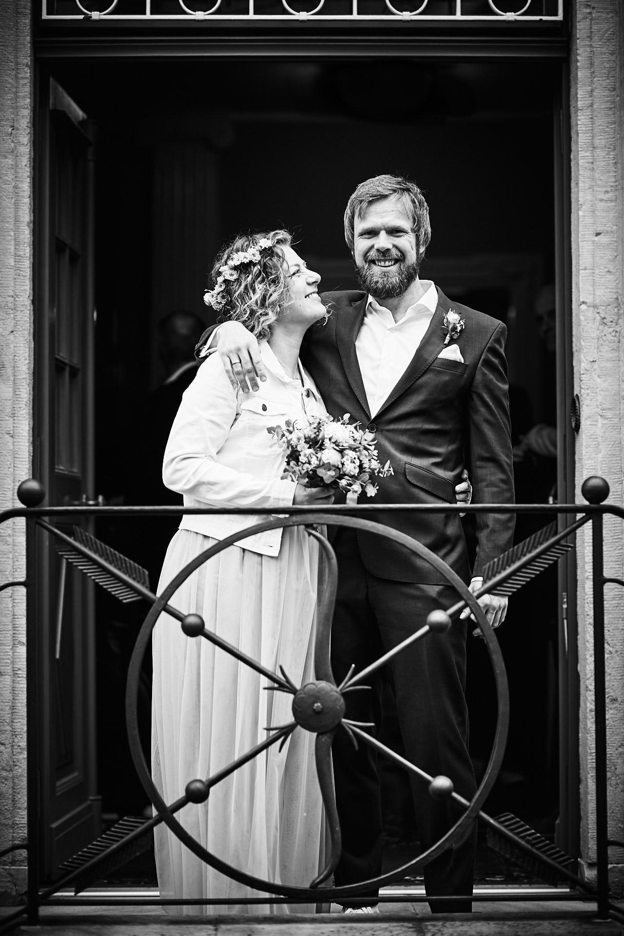 Verheiratet vor dem Standesamt