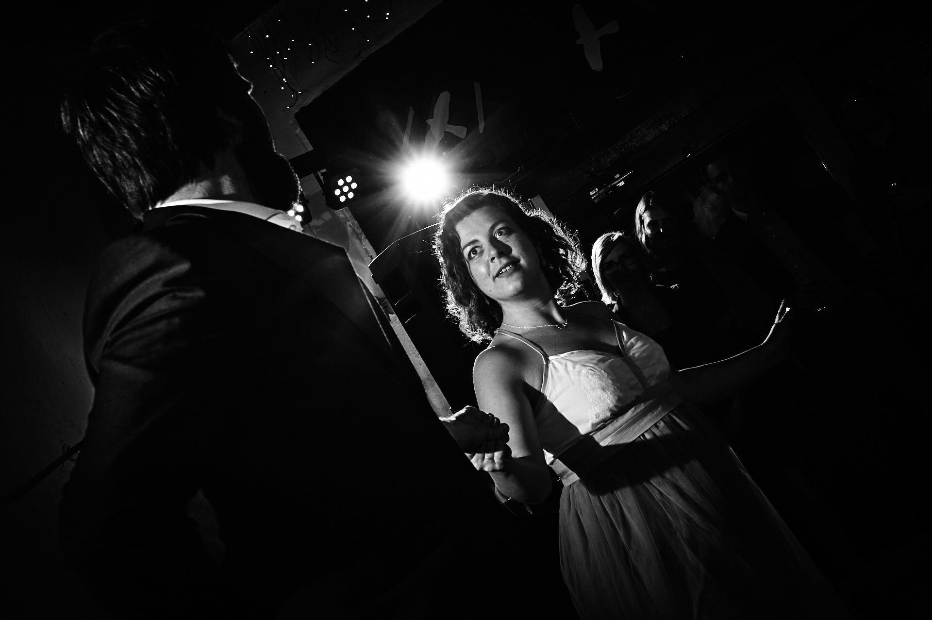 Brautpaar beim Ehrentanz